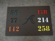 In-Ground Yardage Markers -Anthem
