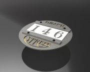 In-Ground Yardage Markers -Grand Cypress