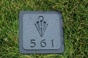 In-Ground Yardage Markers -Hidden Valley