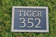 In-Ground Yardage Plates -Blue Jack National