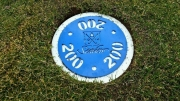 In-Ground Yardage Plates -Seaview