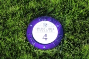 In-Ground Yardage Plates -Spring Hill College