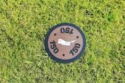 In-ground Yardage Marker -Powder Horn