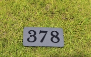 In-ground yardage plates -TPC COLORADO