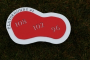 Inground Yardage Plates -BlueJackNational