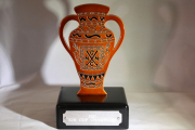 Terracotta Urn Trophy -Naples National