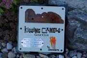 Golf Tournament Wall Plaque -Kissing Camels