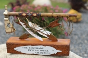 Golf Tournament Tomahawk Trophies -Cliffs Keoweee Springs
