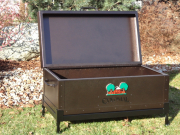 Custom Cooler Box with Stand -Colonial CC