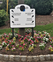 Directional Signs for Golf Courses -Green Brook CC
