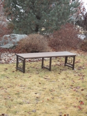 Custom Golf Course Bench -The Gallery