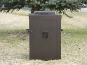 Custom Trash Can Shell -Hill Crest CC