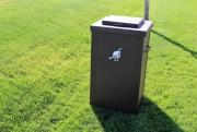 Garbage Can Enclosures TROON CC (2)
