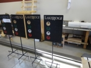 LakeRidge-Par-3-Yardage-Signs