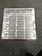 Perpetual Golf Plaque- Silverstone