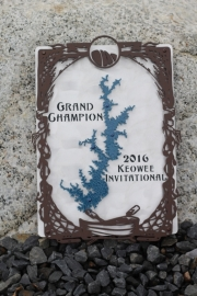 Keowee Invitational Plaques -The Cliffs at Keowee Springs