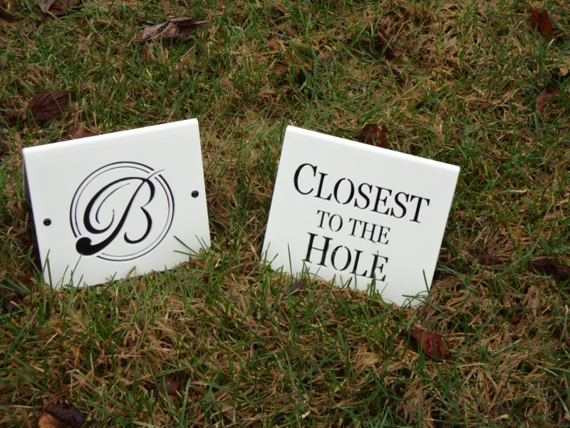 Blackhawk 'Closest to the Hole' Contest Sign