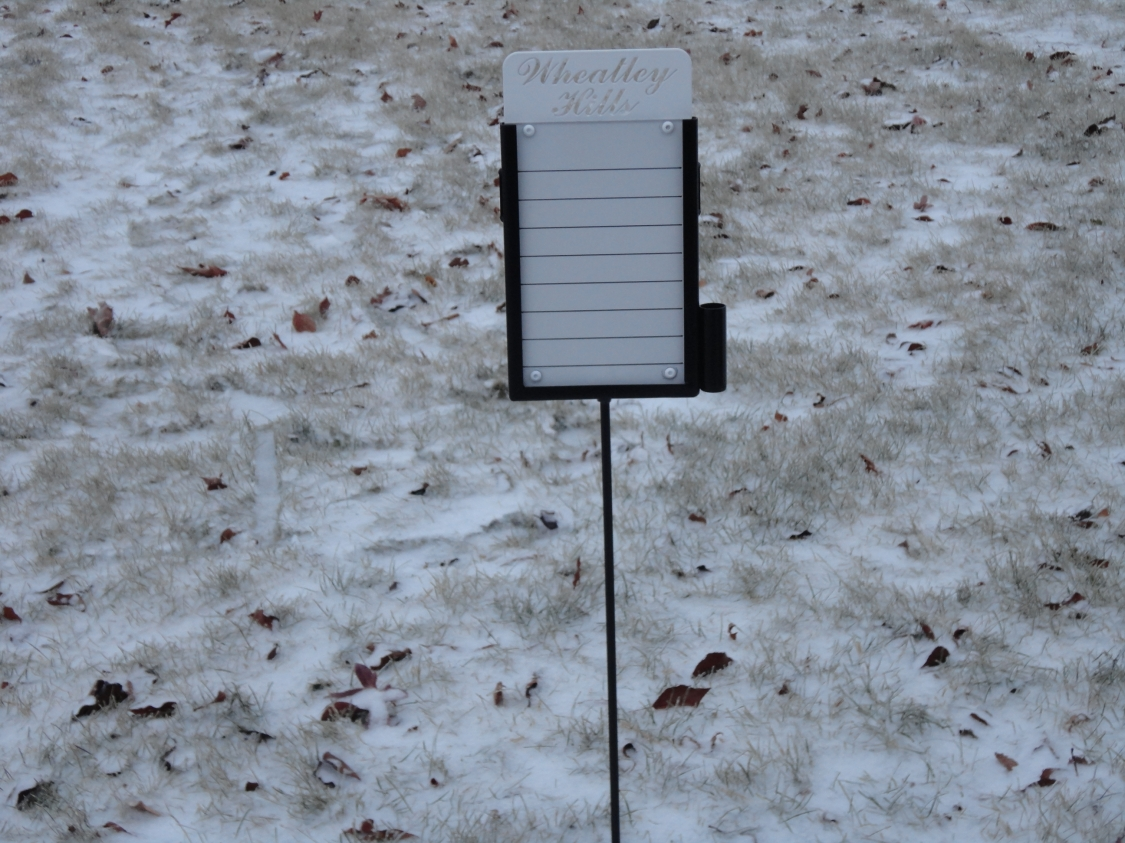 Proximity Markers -Wheatley Hills