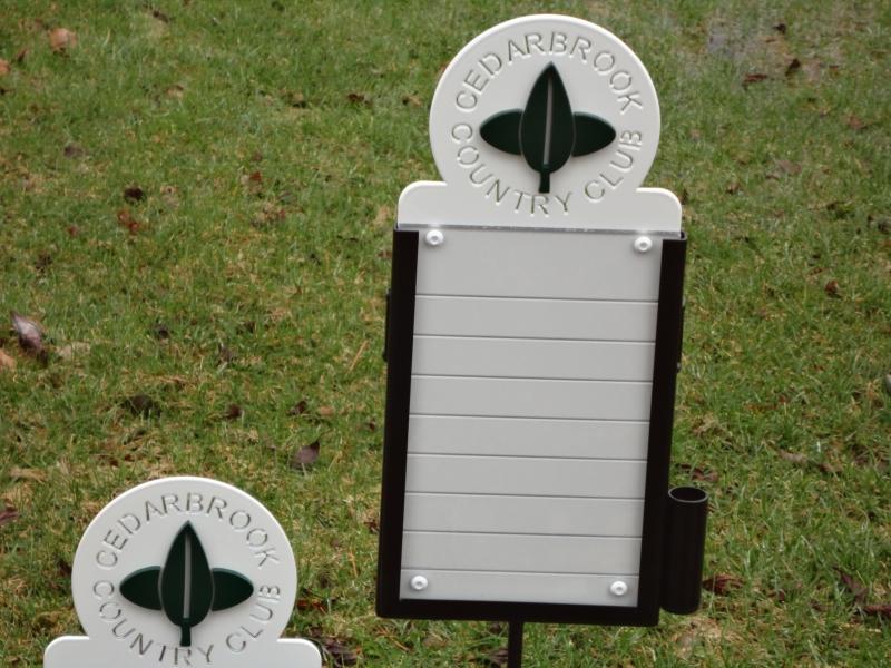 Golf Proximity Markers