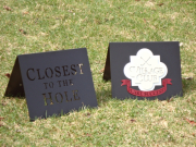 Golf Hole Prize Markers-Lake Succcess
