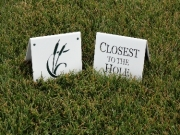 Closest to the Hole Markers -Cattail Creek
