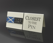Closest to the Pin Sign -St. Andrews
