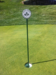 Rockrimmon Putting Green Flagsticks
