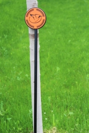 Putting Green Flagstick (Orange)-Reynolds Lake Oconee