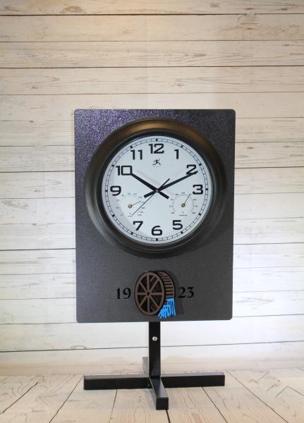 Clock Sign -Green Brook