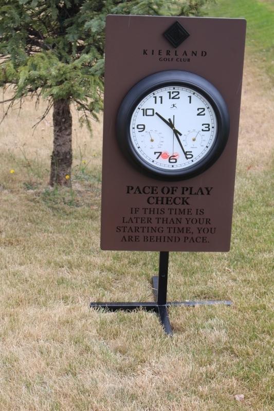 Pace of Play Clocks Kierland