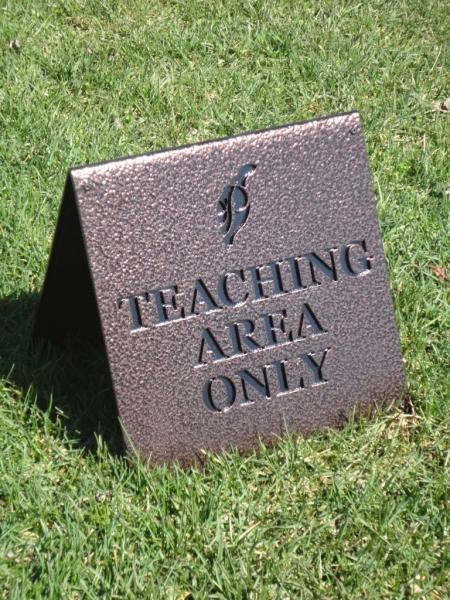 Ptarmigan Teaching Sign