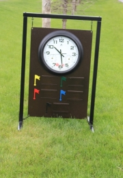 Driving Range Sign __