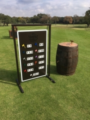Northwood Club DALLAS Range Sign