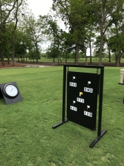 Yardage Sign -Shadow Hawk 2