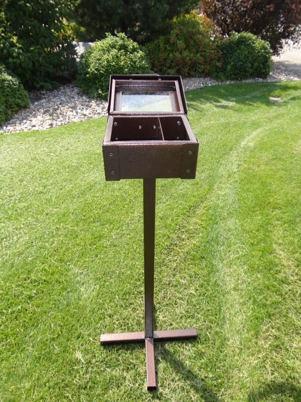 Range Finder Box (open) Keowee Springs