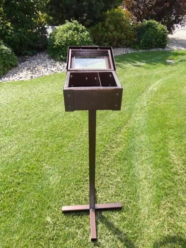 Range Finder Box (open) Keowee Springs
