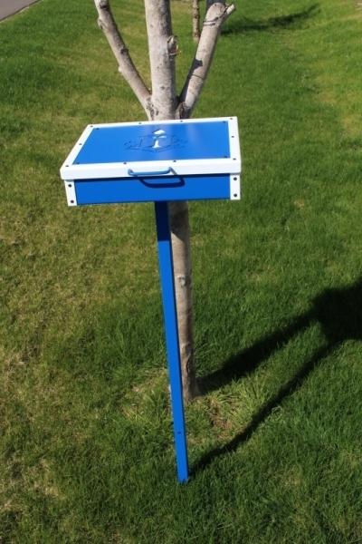 Scorecard Box on post -Rhode Island CC
