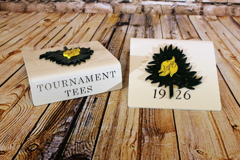 Tournament Tee Markers -Hope Valley