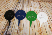 1970 Established Tee Markers