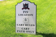 Pin Location Signs -Ballamor