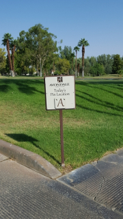 pin location sign -Avondale