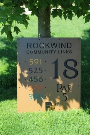Custom Tee Sign -Rockwind