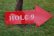 Golf Course Directional Signs -Blue Jack National