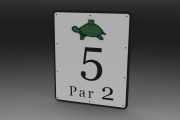 Hole 5 PAR 2 -Turtle Course