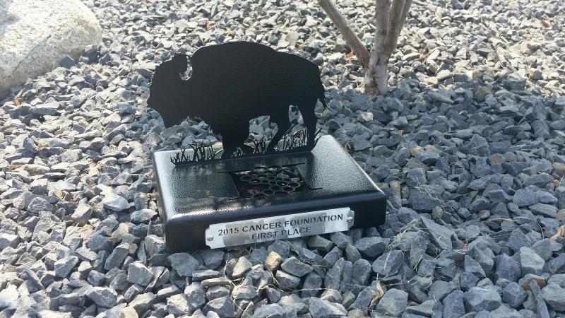 Cancer Foundation Golf Tournament Award -Huntsman Springs