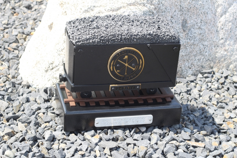 Coal Cart Trophies -Pete Dye