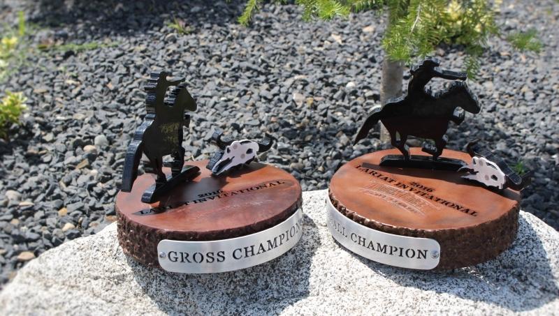 Cowboy trophies -Rock Creek