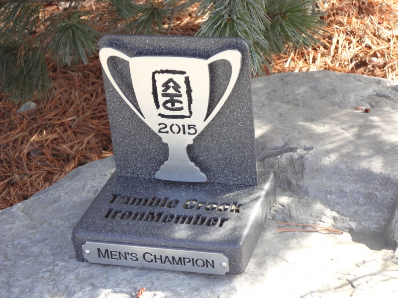 Custom Tourament Trophy -Tumble Creek