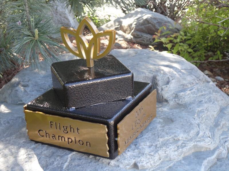 Flight Winner Trophy - Gaillardia