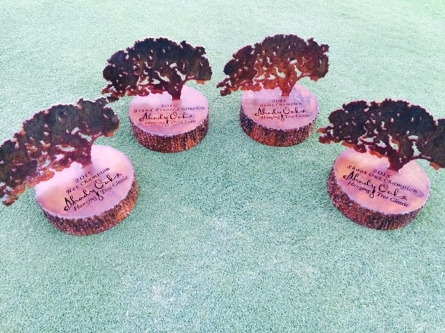Hanging Tree Trophies at Shady Oaks